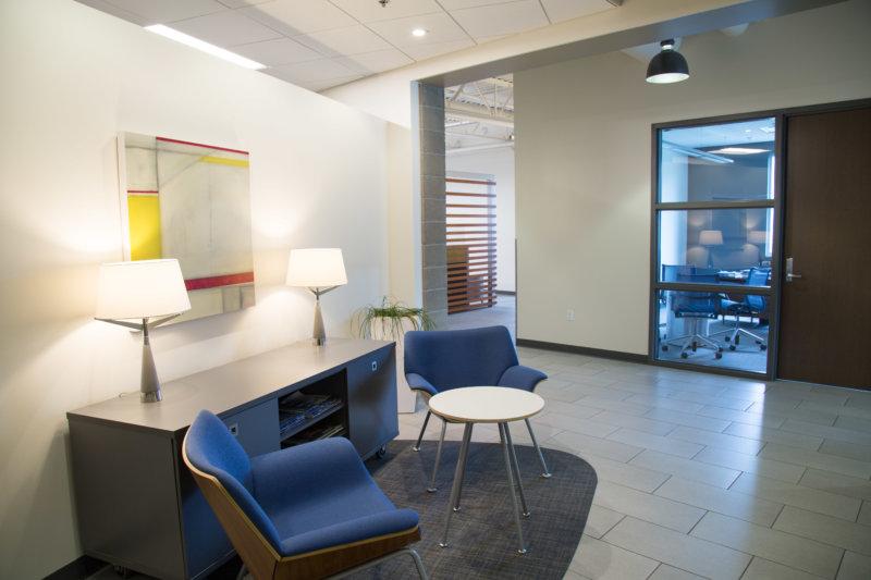 Motion Dynamics office lounge, Fruitport, Michigan