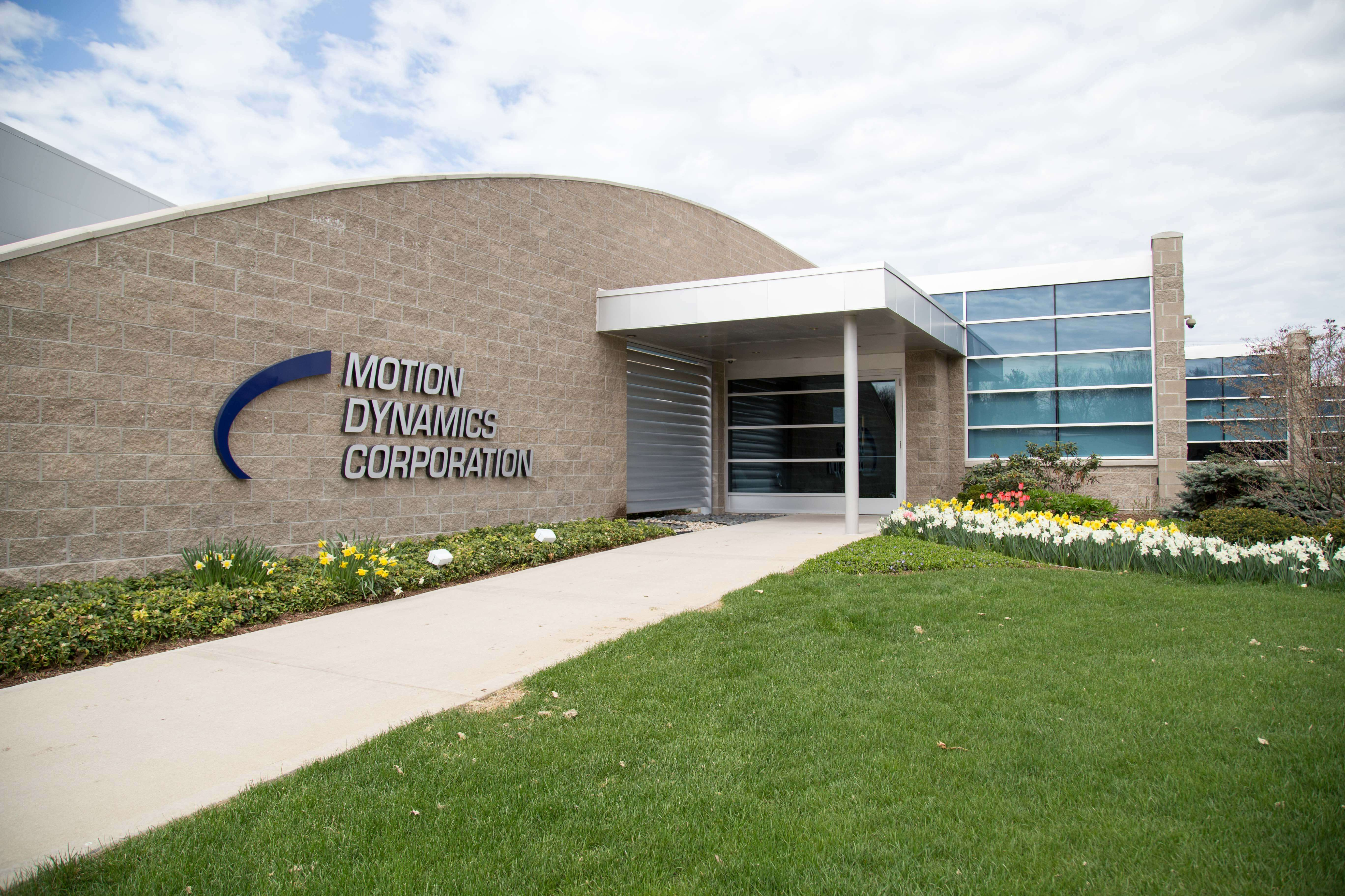 Motion Dynamics exterior front entrance