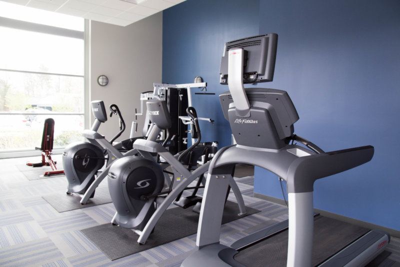 Motion Dynamics workout room, Fruitport, Michigan