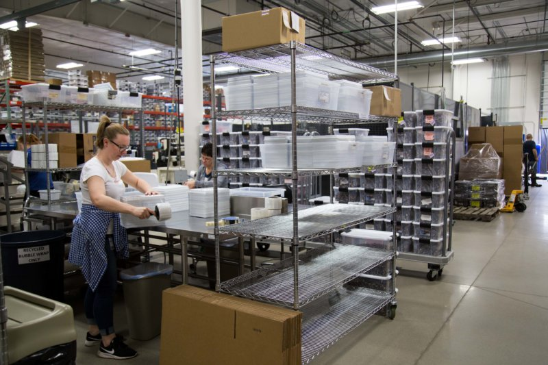 Motion Dynamics packaging, Fruitport, Michigan