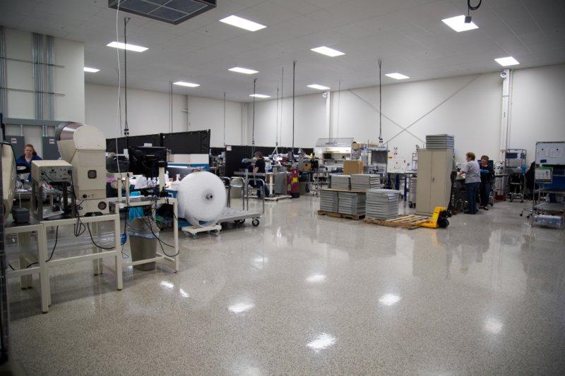 Motion Dynamics Facility Floor, Fruitport, Michigan