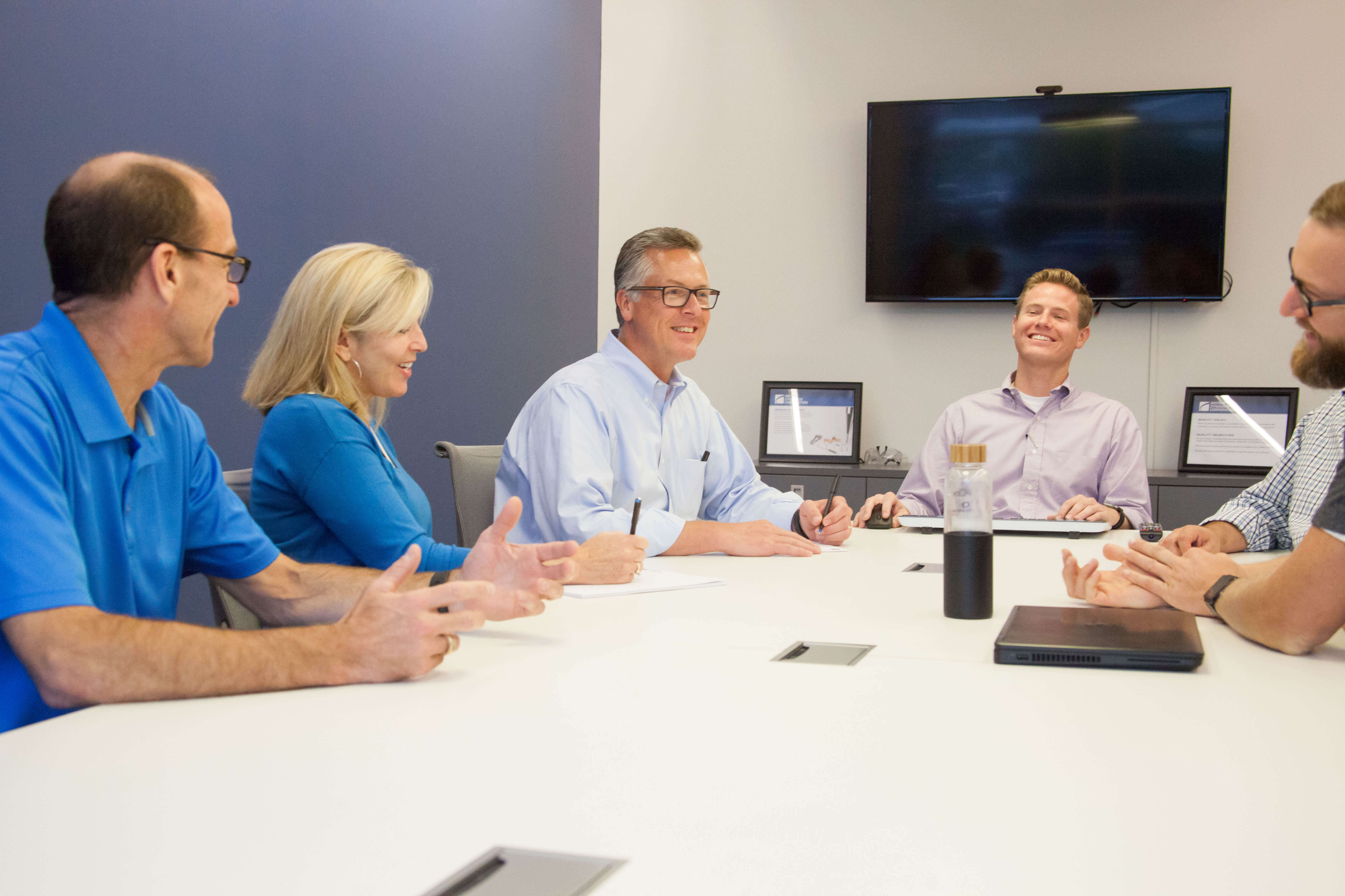 Motion Dynamics team meeting, Fruitport, Michigan